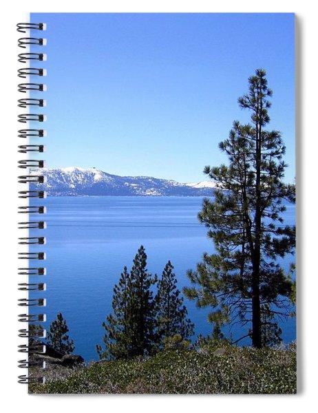 Spectacular Lake Tahoe Spiral Notebook