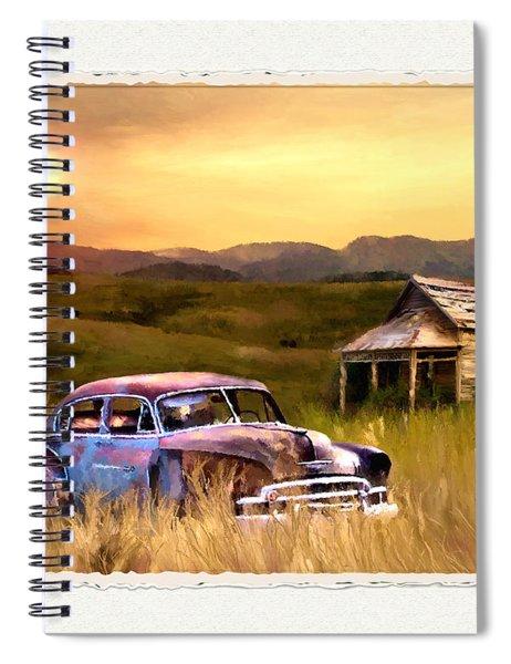 Spent Spiral Notebook