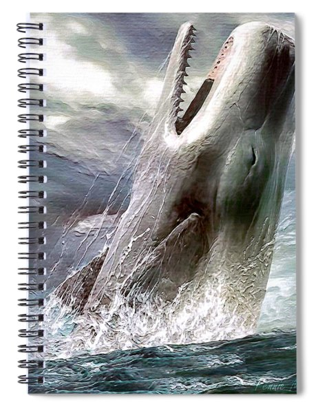 Sperm Whale Spiral Notebook