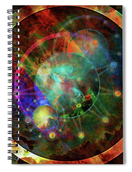 Sphere Of The Unknown Spiral Notebook