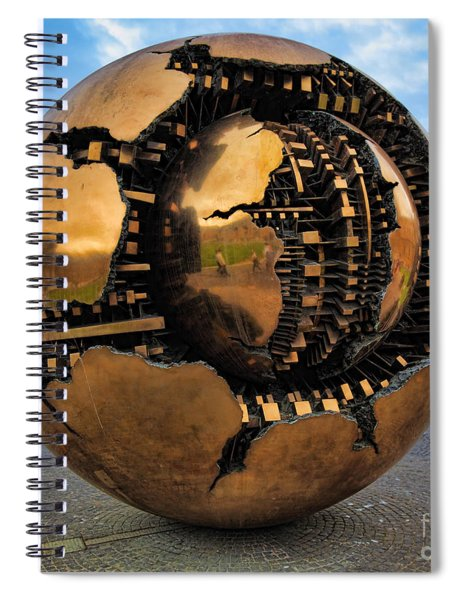 Sphere Within Sphere Spiral Notebook