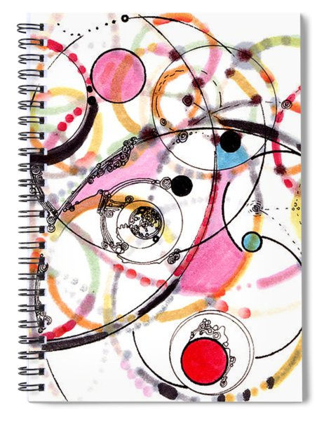 Spheres Of Influence Spiral Notebook