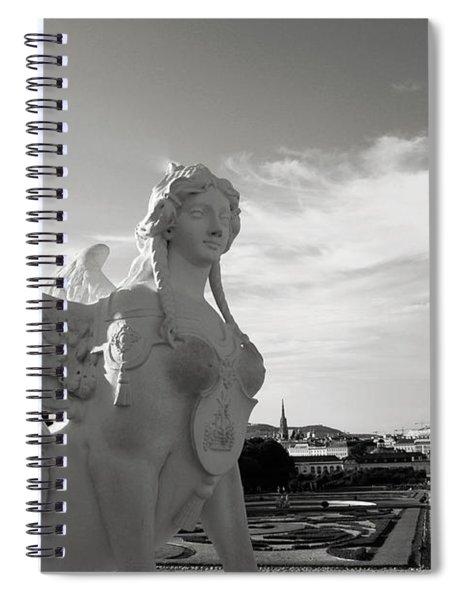 Sphinx- By Linda Woods Spiral Notebook