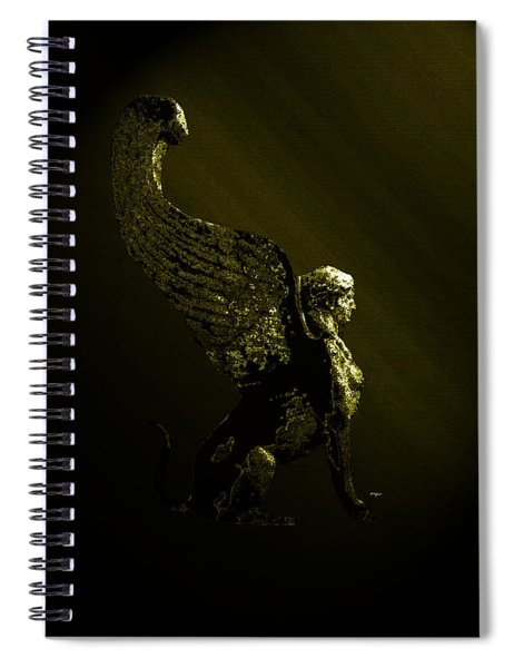 Sphinx Spiral Notebook