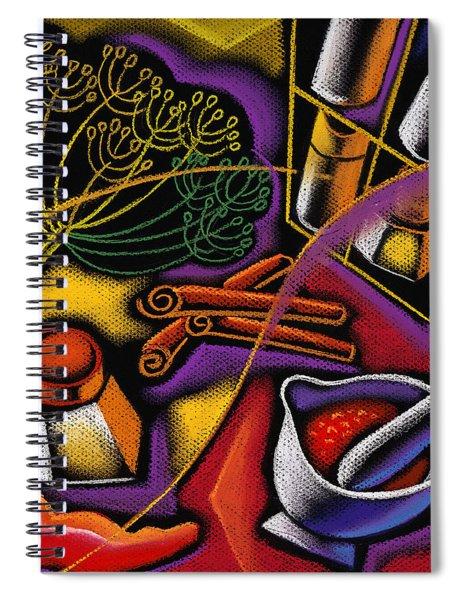 Spice Art Spiral Notebook