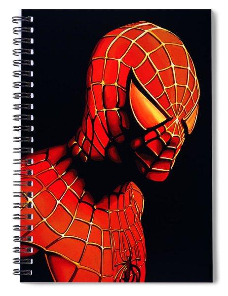 Spiderman Spiral Notebook