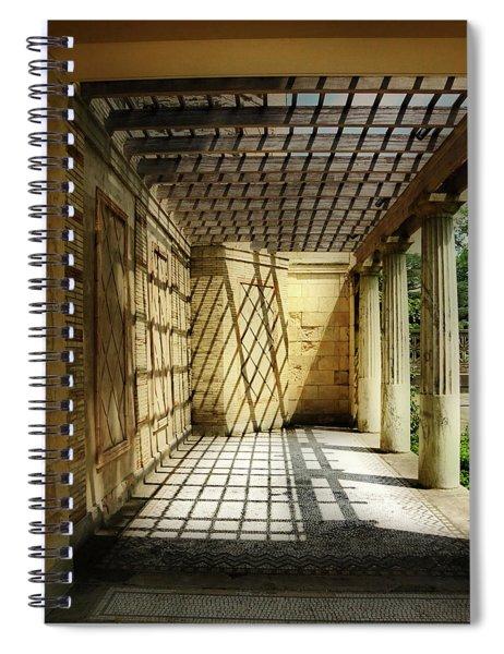 Spider's Den Spiral Notebook