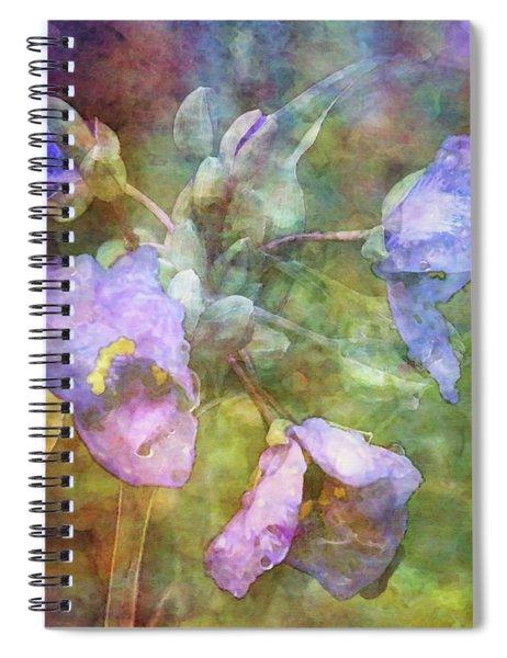 Spiderwort 1398 Idp_2 Spiral Notebook