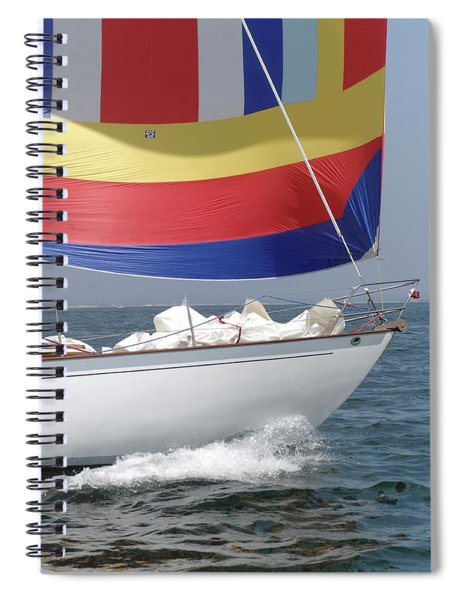 Spinnaker Run Spiral Notebook