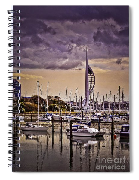 Spinnaker Tower From Priddy's Hard Spiral Notebook