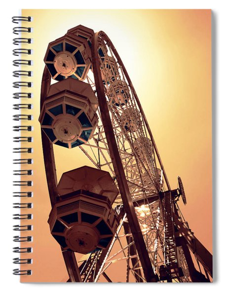 Spinning Like A Ferris Wheel Spiral Notebook