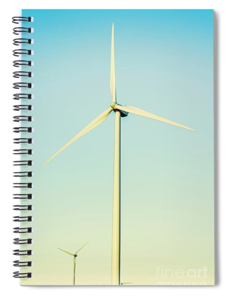 Spinning Sustainability Spiral Notebook