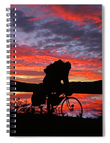 Spinning The Wheels Of Fortune Spiral Notebook