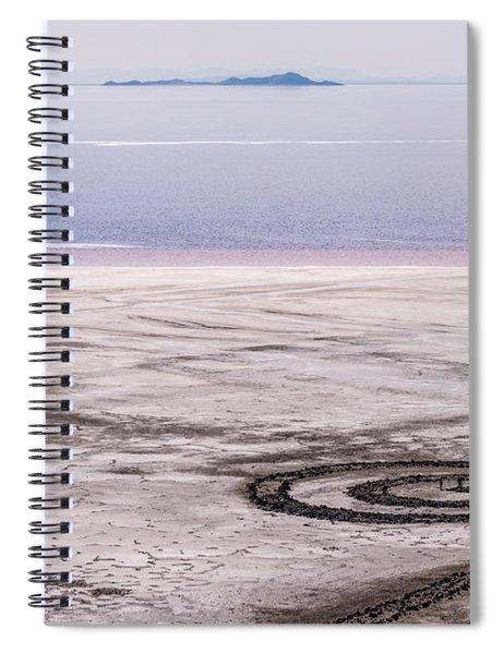 Spiral Jetty - Great Salt Lake - Utah Spiral Notebook
