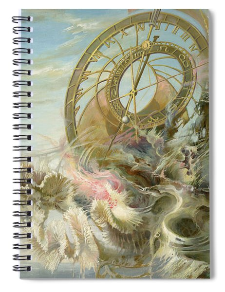Spiral Of Time Spiral Notebook