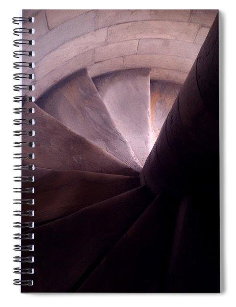Spiral Of Time Spiral Notebook