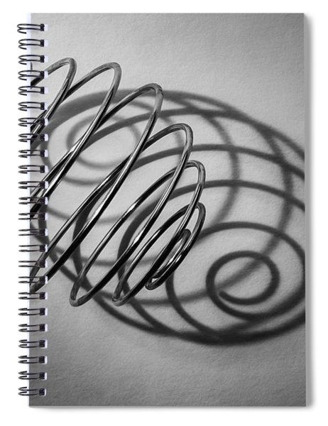 Spiral Shape And Form Spiral Notebook