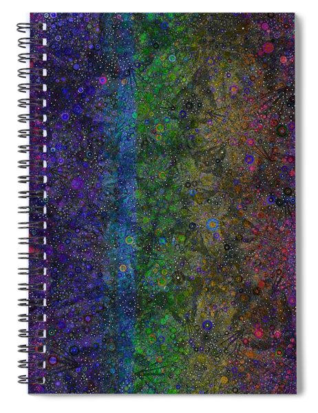 Spiral Spectrum Spiral Notebook