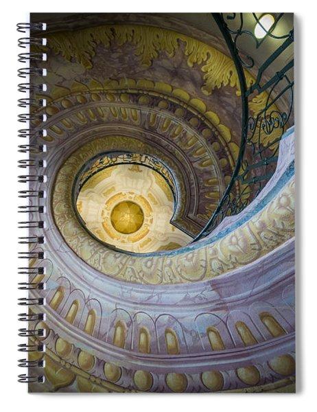 Spiral Staircase Melk Abbey I Spiral Notebook