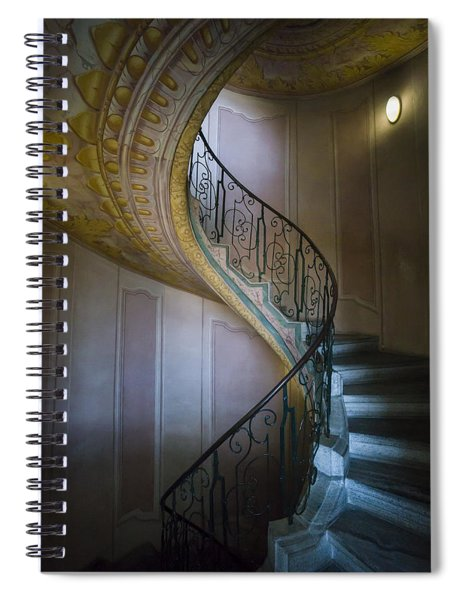 Spiral Staircase Melk Abbey II Spiral Notebook