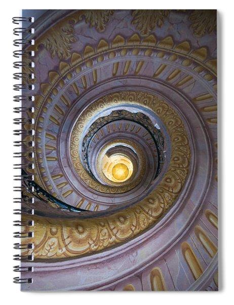Spiral Staircase Melk Abbey IIi Spiral Notebook