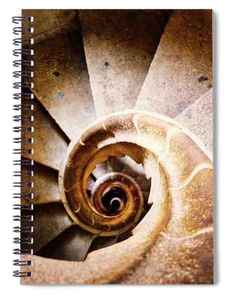 Spiral Steps Spiral Notebook