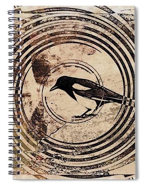 Spiral Watcher Spiral Notebook