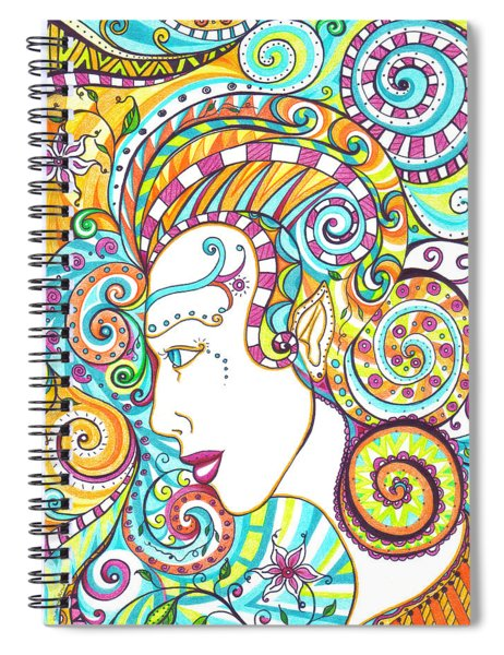 Spiraled Out Of Control Spiral Notebook