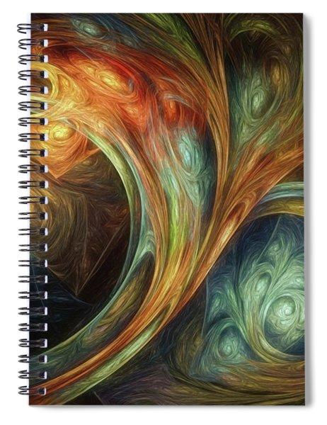 Spiralem Ramus Spiral Notebook