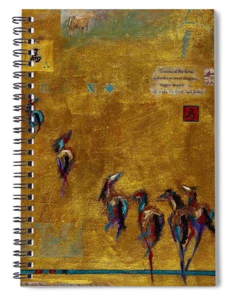Spirit Horses Spiral Notebook