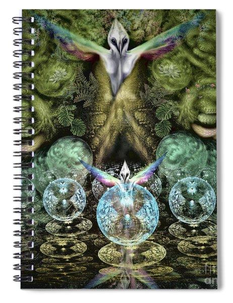 Spirit In The Woods Spiral Notebook