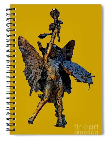 Spirit Of Art Spiral Notebook
