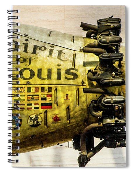 Spirit Of St Louis Spiral Notebook