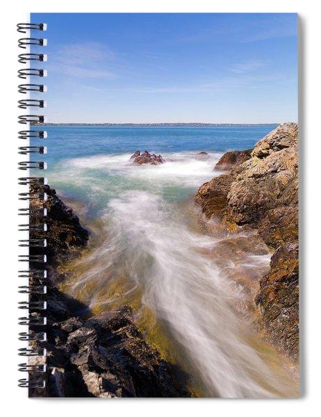 Spirit Of The Atlantic Spiral Notebook