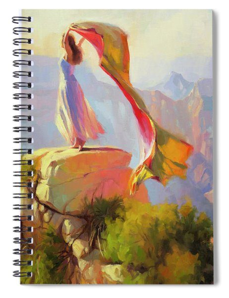 Spirit Of The Canyon Spiral Notebook