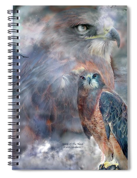 Spirit Of The Hawk Spiral Notebook