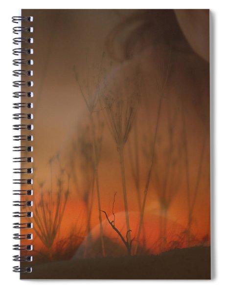 Spirit Of The Land Spiral Notebook