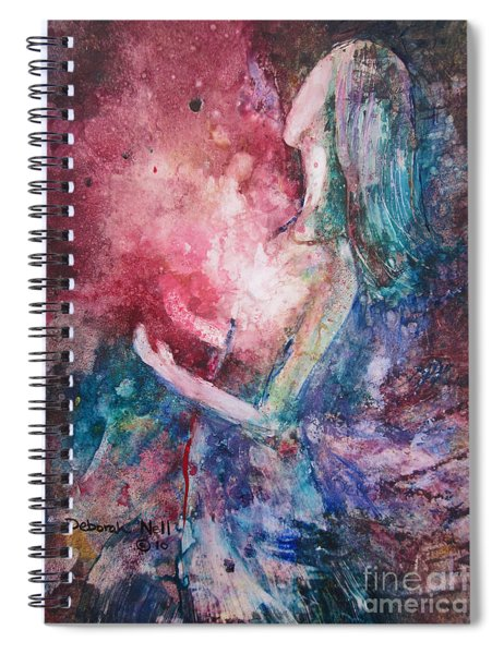 Spirit Of The Living God Spiral Notebook