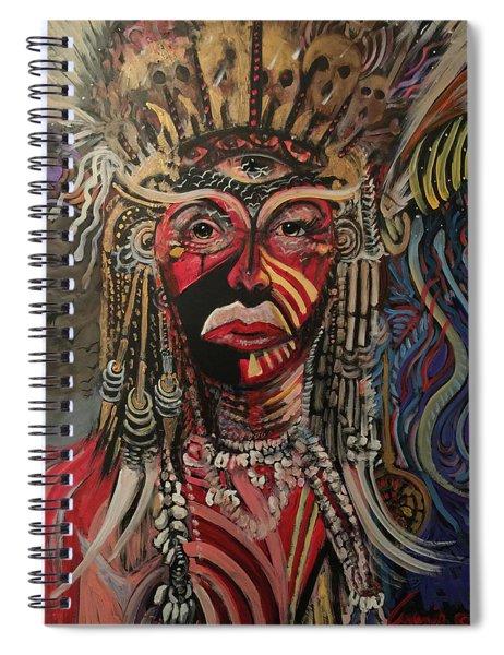 Spirit Portrait Spiral Notebook