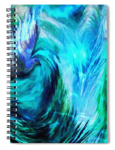 Spirit Sanctuary Spiral Notebook