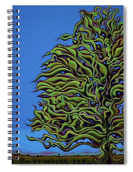 Spirit Tree Dawning Spiral Notebook