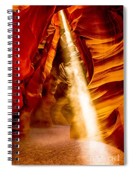 Spirit Light Spiral Notebook