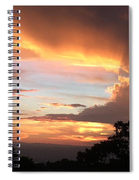 Spiritual Sunset Spiral Notebook