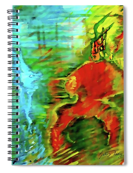 Spiritual Warrior Spiral Notebook