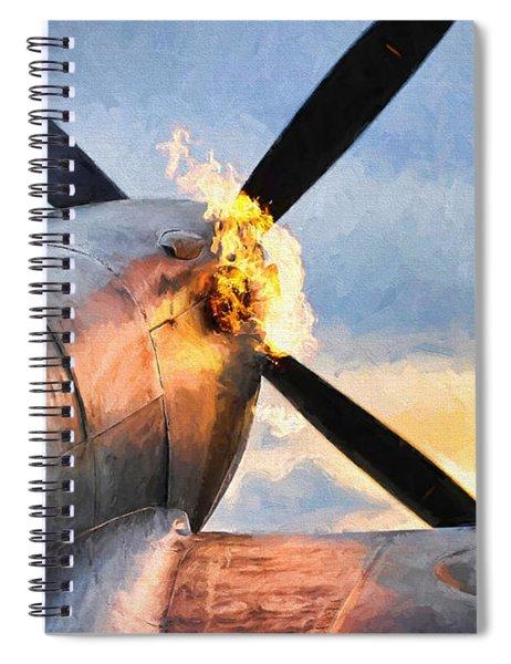 Spitfire Hot Start Spiral Notebook