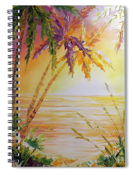 Splash Palm Spiral Notebook