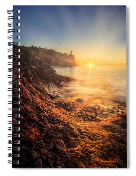 Split Rock Glory Spiral Notebook