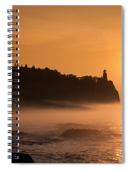 Split Rock's Morning Glow Spiral Notebook