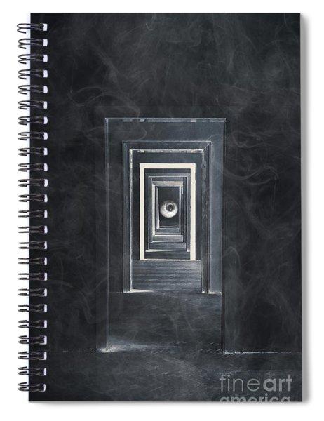 Spooky Doorways Spiral Notebook