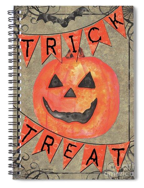 Spooky Pumpkin 1 Spiral Notebook